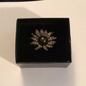 Heidi Daus Sublime Star Sunburst Ring